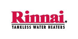 rinnai tankless water heater logo