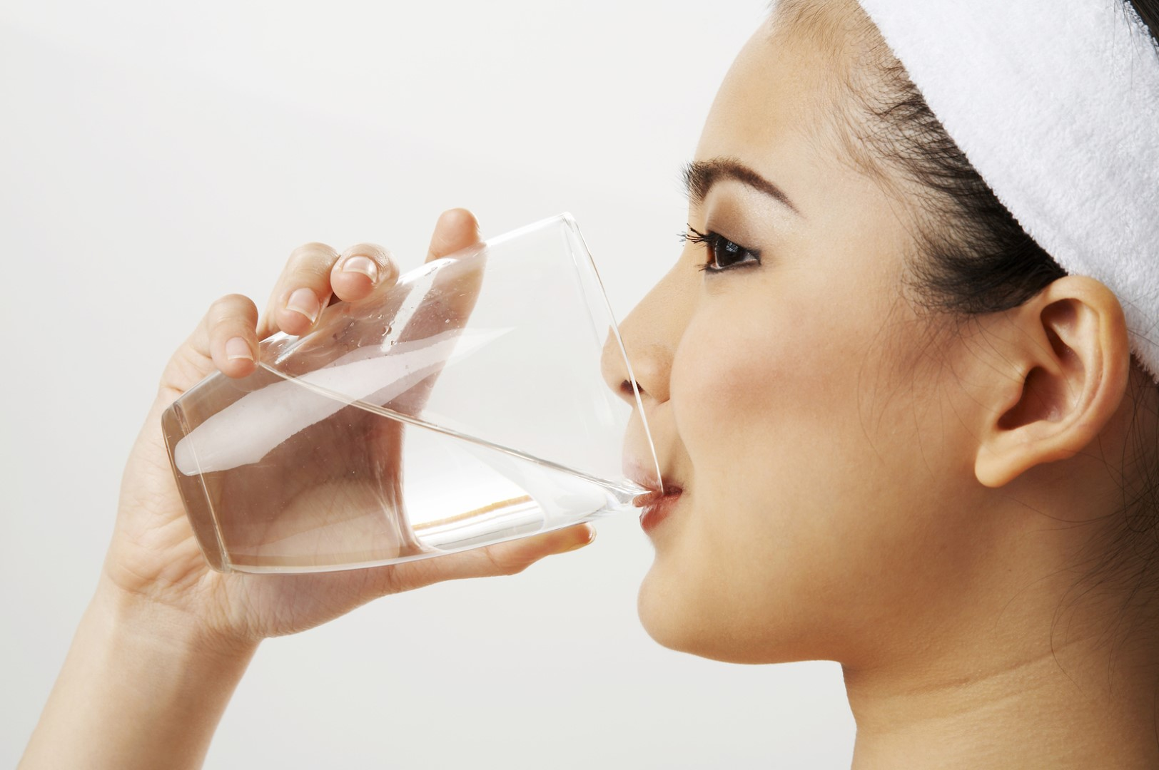 Drinking Filtered Water