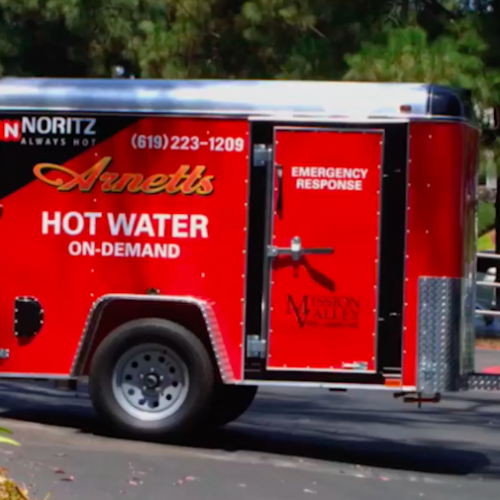 With our MOBILE transportation we can provide HOT WATER to your business, ANYTIME and ANYWHERE. There is no need to go without HOT WATER!!
