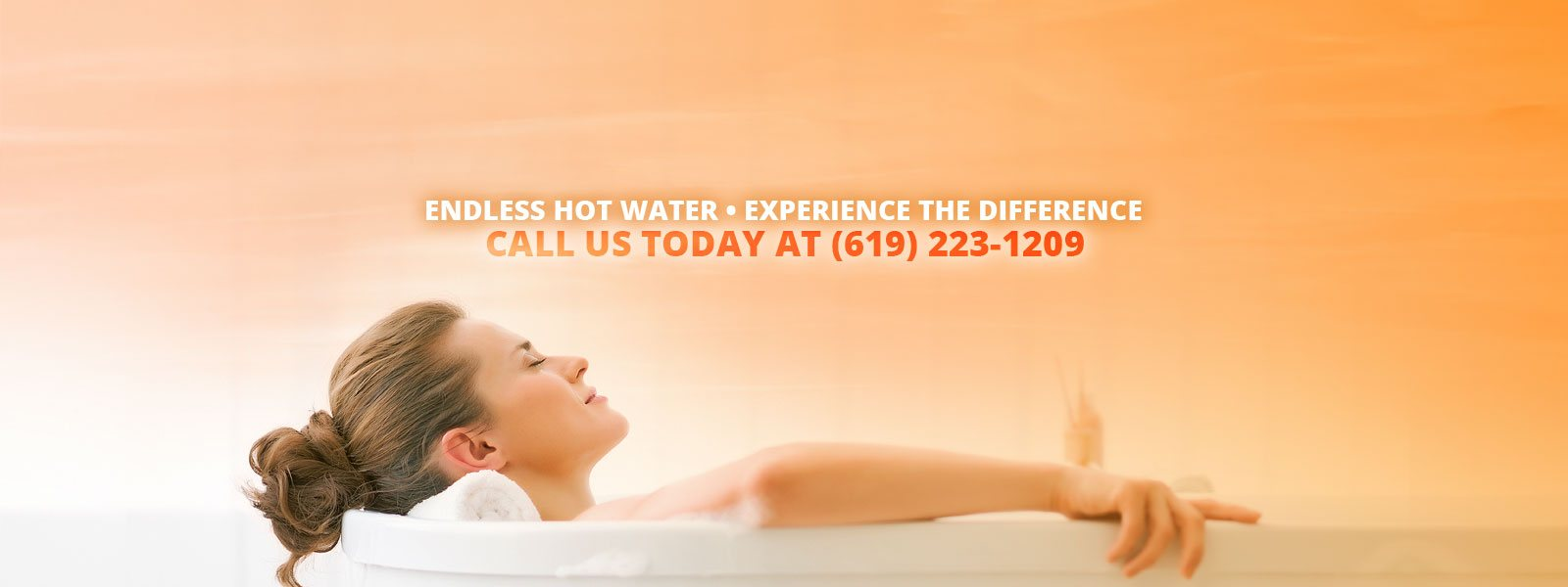 Endless Hot Water • Experience The Difference