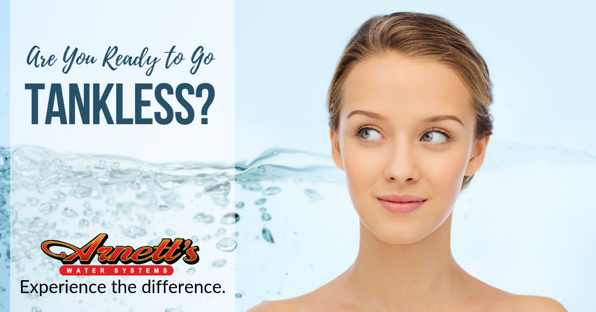 Tankless water heaters save time, money, and space.