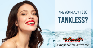 tankless water heaters save time, money, and space