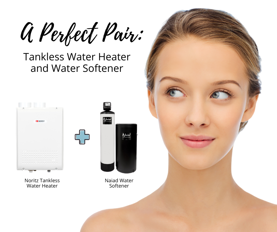 tankless water heater and softener