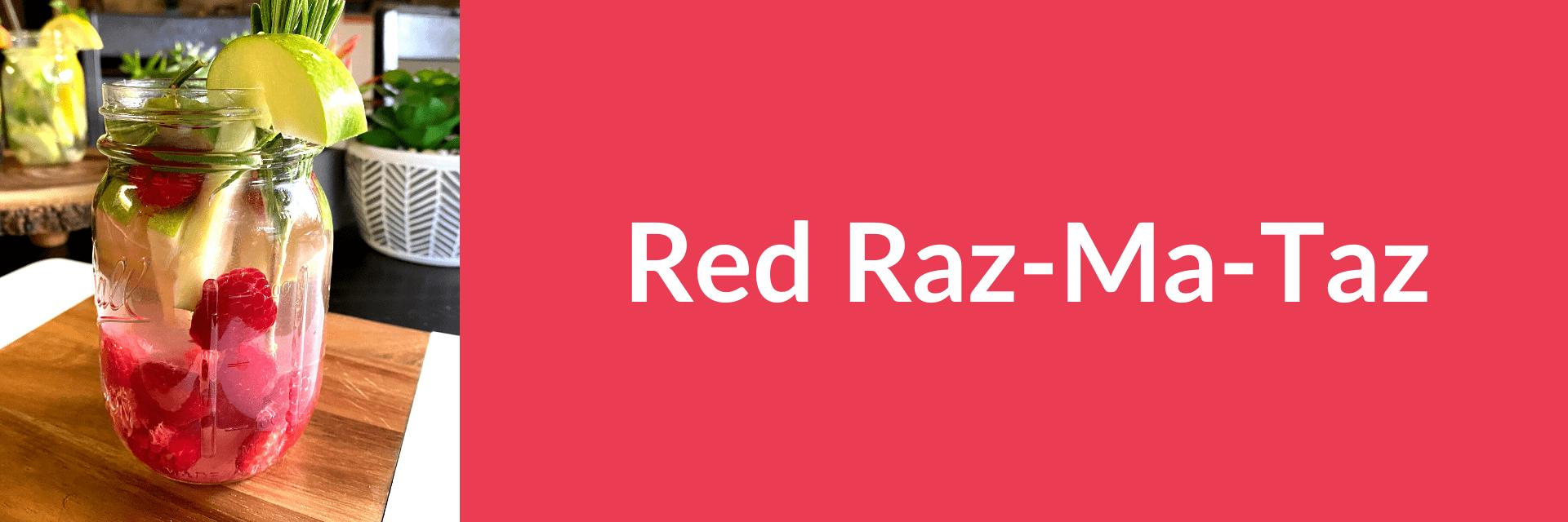 Red Raz-Ma-Taz banner